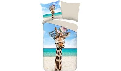 PURE luxury collection Wendebettwäsche »Cool Giraffe«, mit Giraffe kaufen