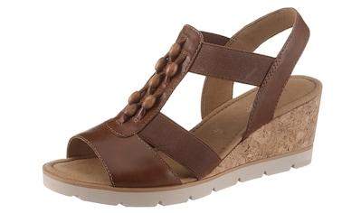 Gabor Sandalette, mit hübschen Holzperlen kaufen