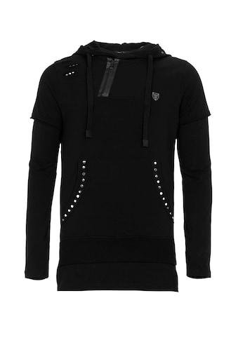 Cipo & Baxx Kapuzensweatshirt »Darkness« kaufen