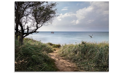 Artland Glasbild »Wege zum Meer....«, Gewässer, (1 St.) kaufen