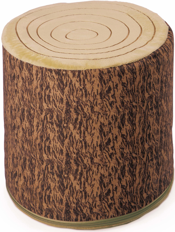 Sitzkissen Holzstamm Käthe Kruse