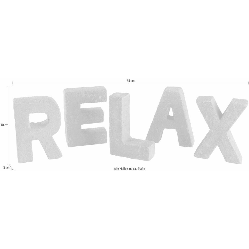Home affaire Dekoobjekt »RELAX«, Deko-Buchstaben