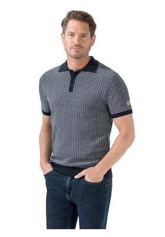 Marco Donati Strick - Poloshirt mit gerippten Abschlüssen kaufen