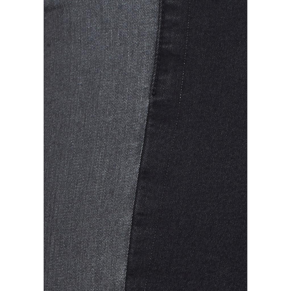 Buffalo Leggings, im Zwei-Farben-Design