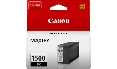 Canon Tintenpatrone »PGI-1500BK«, (1 St.) kaufen