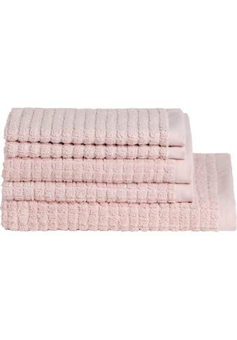 Handtuch Set, »Cube«, Seahorse kaufen