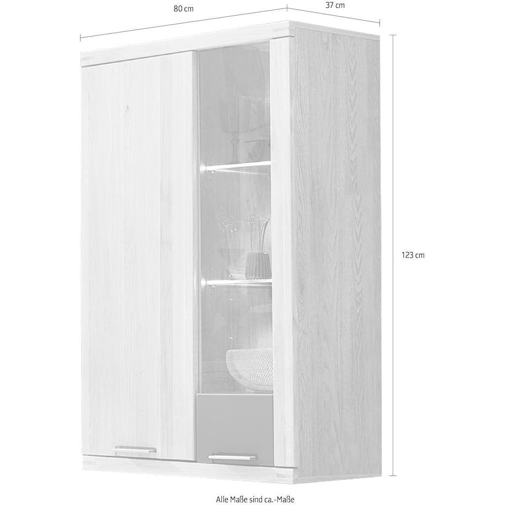 Innostyle Hängevitrine »Bianco«, mit Soft-Close-Funktion, inkl. Beleuchtung