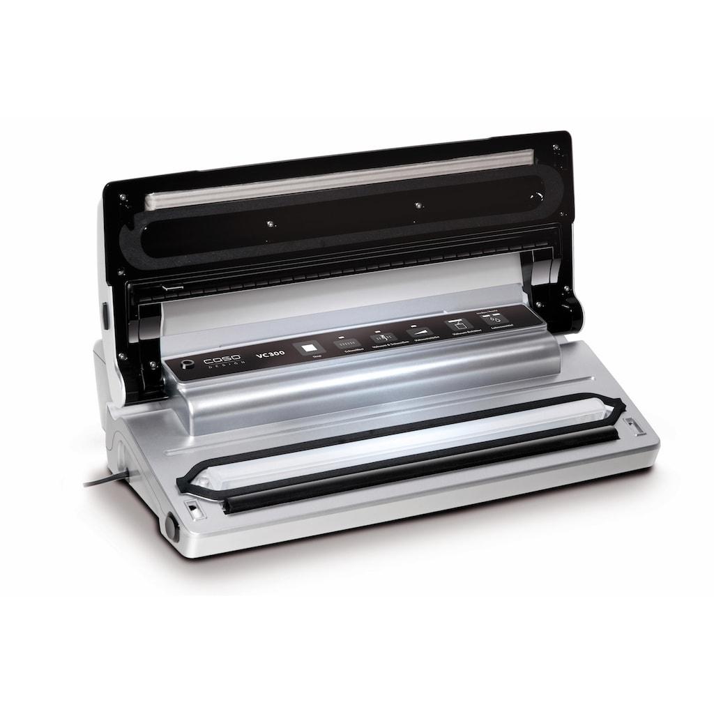 Caso Vakuumierer »VC 300 Pro«, inkl. 2 Profifolienrollen und 1 Vakuumierschlauch