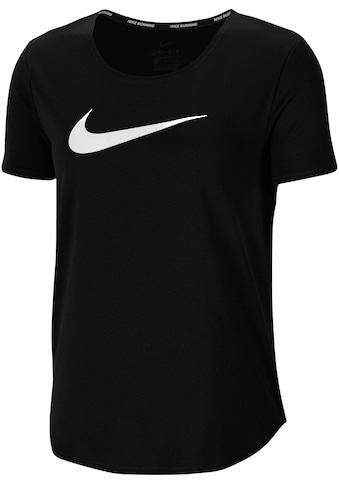 Nike Laufshirt »WOMENS SHORT SLEEVE RUNNING TOP PLUS SIZE« kaufen