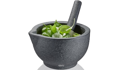 GEFU Mörser »GRINO«, Porzellan in Gussoptik, Ø 13,5 cm kaufen