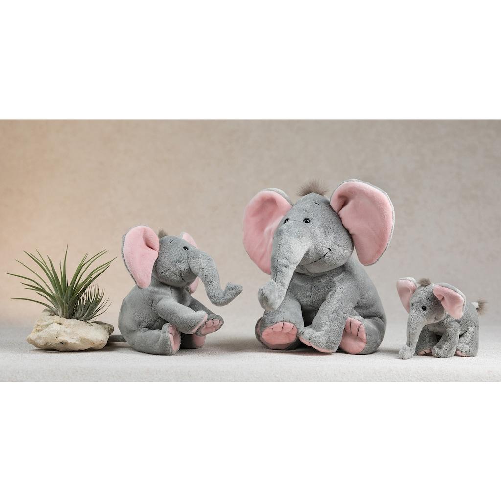 Schaffer® Kuscheltier »Elefant Baby Sugar, 25 cm, grau/rosé«
