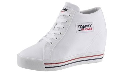 TOMMY JEANS Wedgesneaker »TOMMY JEANS WEDGE SNEAKER«, mit Logoschriftzug kaufen