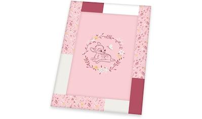 Herding Krabbeldecke »Disney`s Bambi, rosa« kaufen