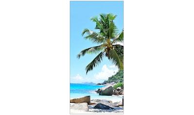 MySpotti Spritzschutz »fresh F3 Seychellen«, 100 x 210 cm kaufen