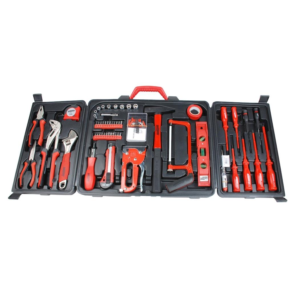 Brüder Mannesmann Werkzeuge Werkzeugset »(60-tlg.)«, (Set, 60 St.)