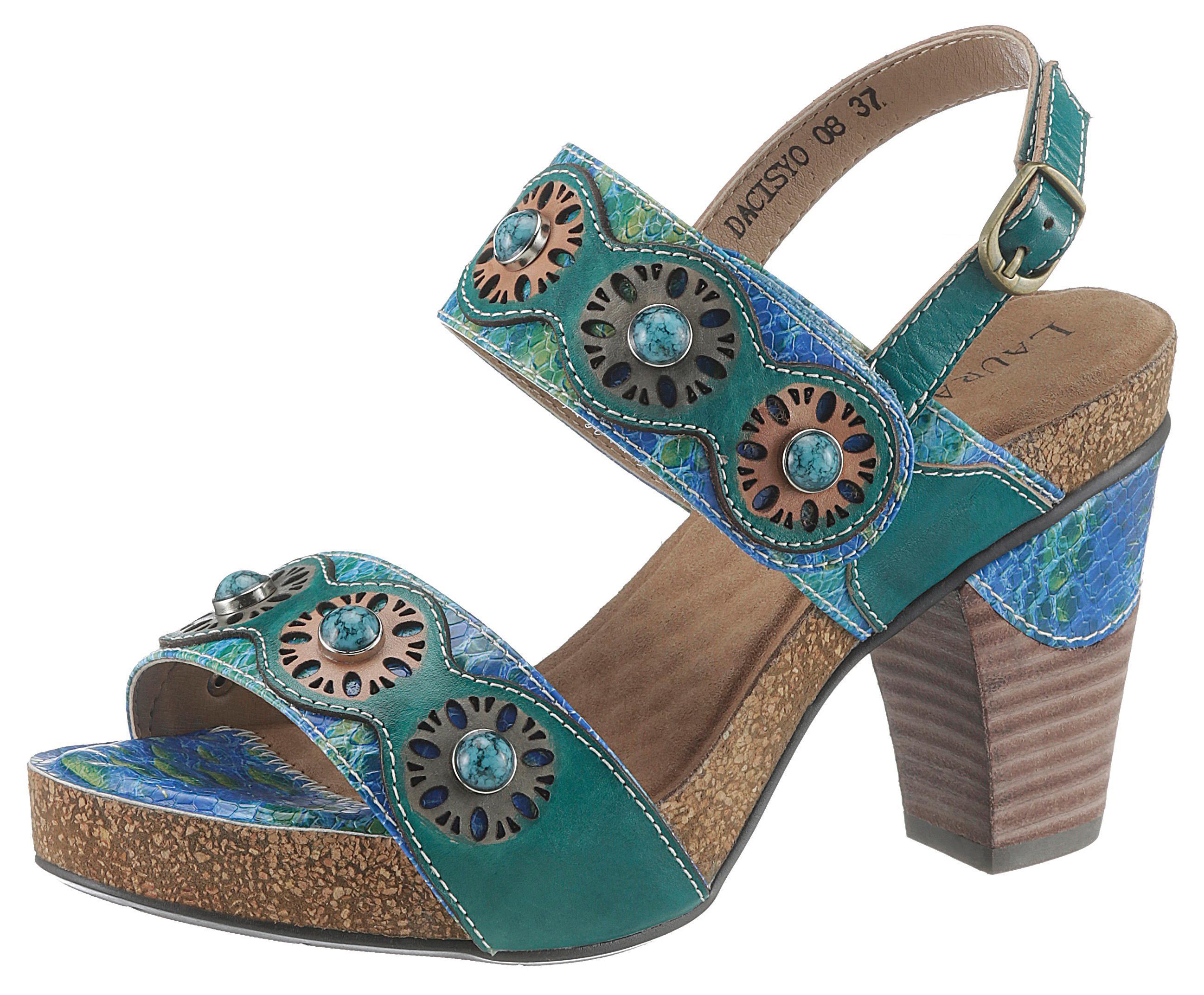 laura vita -  High-Heel-Sandalette Dacisyo