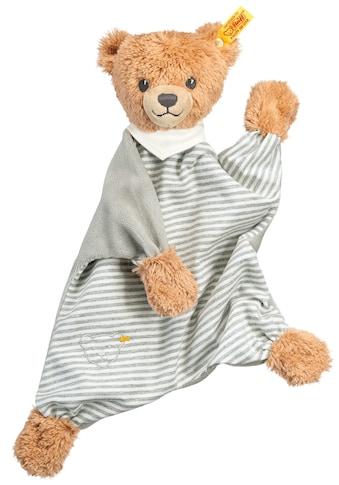 Steiff Schmusetuch »Schlaf-gut-Bär Schmusetuch, grau/weiß«, (1 tlg.), mit gestickten... kaufen