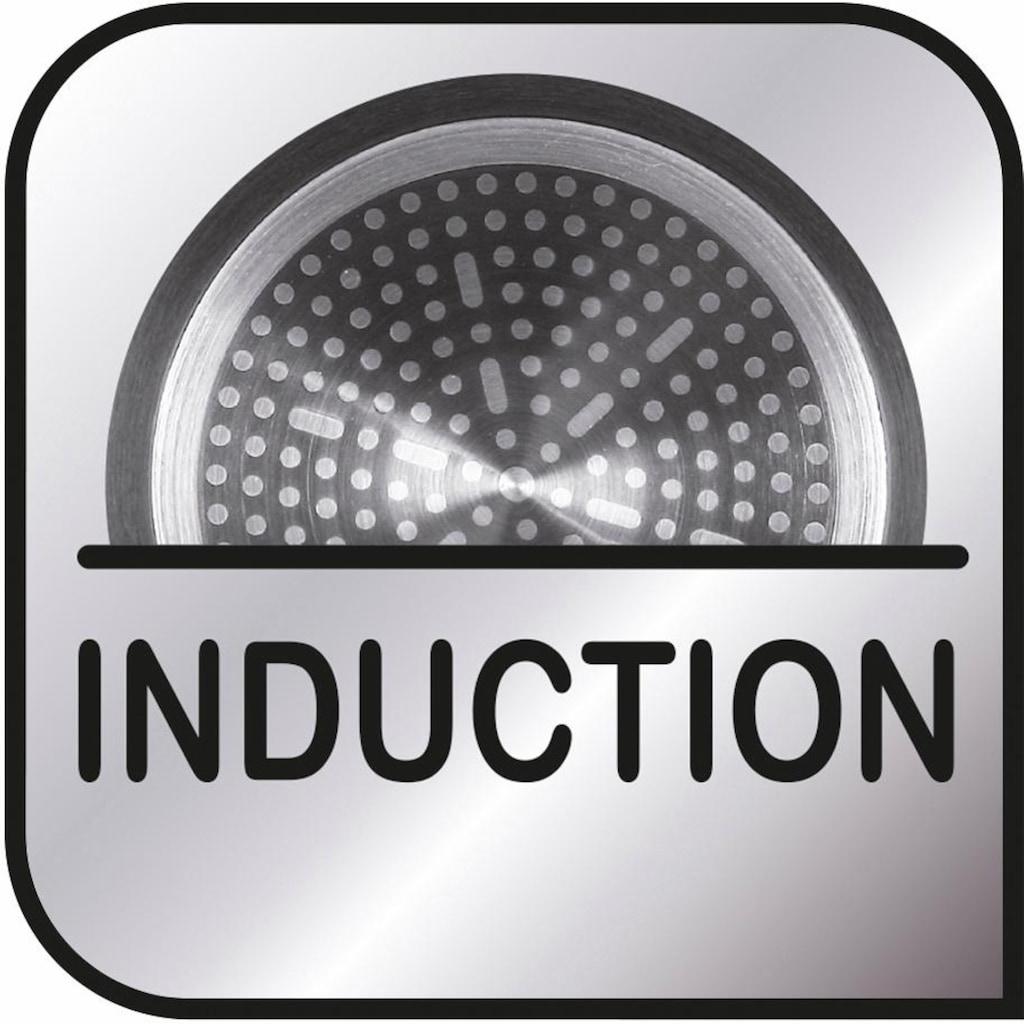 Tefal Grillpfanne »Premium Aluguss Induction Wave«, Aluminiumguss, (1 tlg.), Induktion
