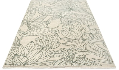 Leonique Teppich »Sinka«, rechteckig, 10 mm Höhe, mit Fransen kaufen