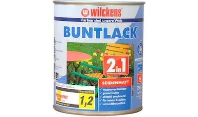 Wilckens Farben Holzlack »2in1 Buntlack seidenmatt«, umweltfreundlich kaufen