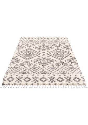 Hochflor - Teppich, »Pulpy 541«, Carpet City, rechteckig, Höhe 30 mm, maschinell gewebt kaufen