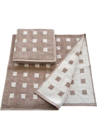 Dyckhoff Handtücher »Vernice«, (2 St.), mit kleinen Karos versehen kaufen