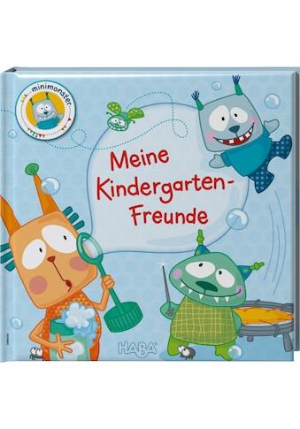 Haba Buch »Freundebuch Minimonster – Meine Kindergarten-Freunde« kaufen