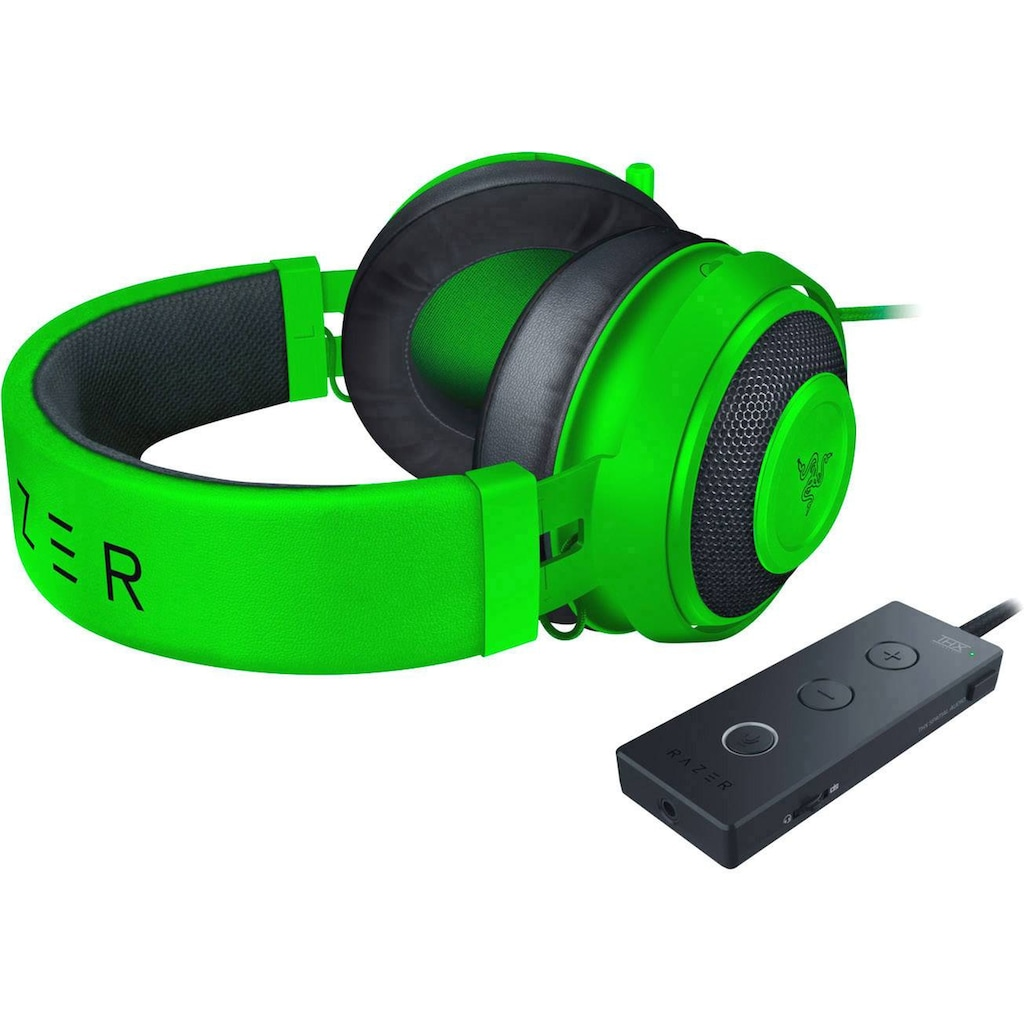 RAZER Kraken Gaming Headset »Mit Kältegel Gefüllte Ohrpolster«