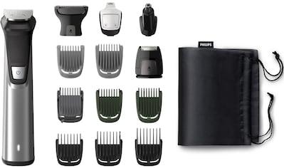 Philips Multifunktionstrimmer »MG7745/15«, 14 Aufsätze, All-in-One Trimmer, 14-in-1 für Gesicht, Körper und Kopfhaare kaufen