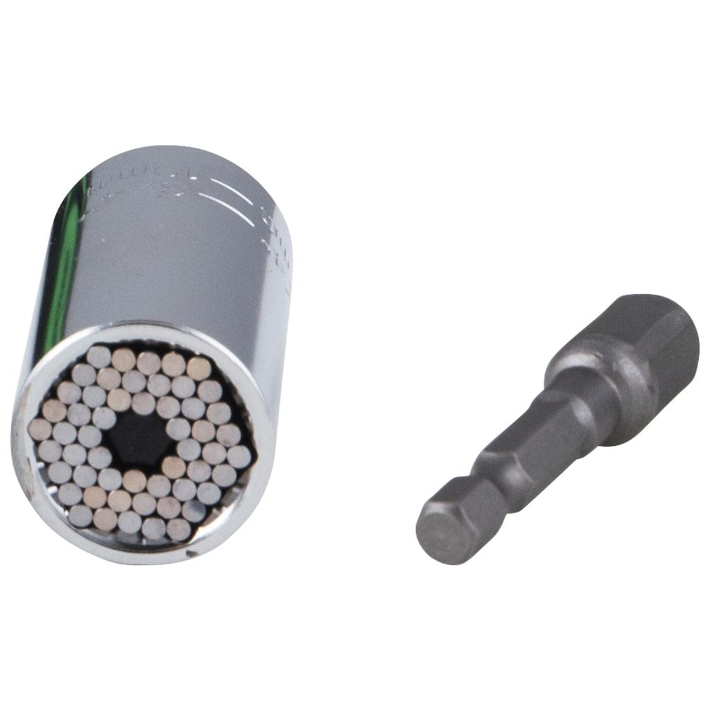 Universal Stecknuss »Powergrip XL«, Erweiterung zu Ratsche »Powergrip«, für 11-32 mm