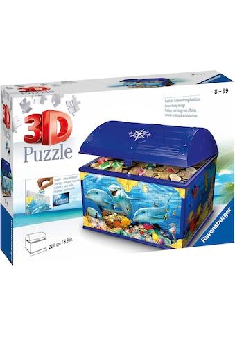 Ravensburger 3D-Puzzle »Schatztruhe Unterwasserwelt«, Made in Europe, FSC® - schützt Wald - weltweit kaufen