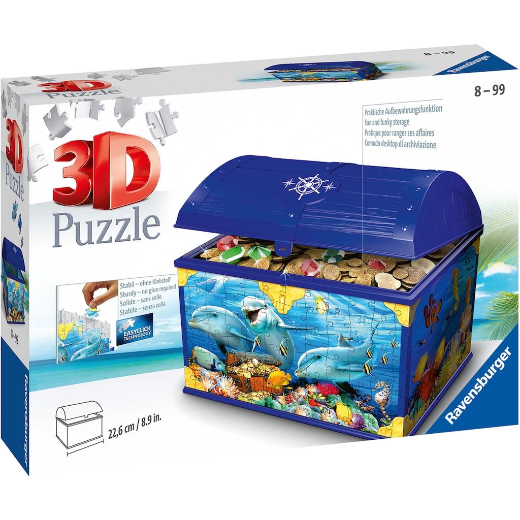 """Ravensburger 3D-Puzzle """"Schatztruhe Unterwasserwelt"""""""