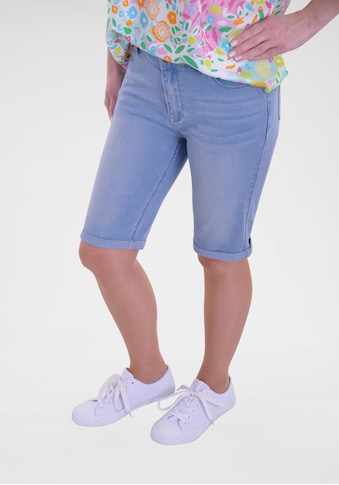NAVIGAZIONE Jeansbermudas, mit Umschlag kaufen