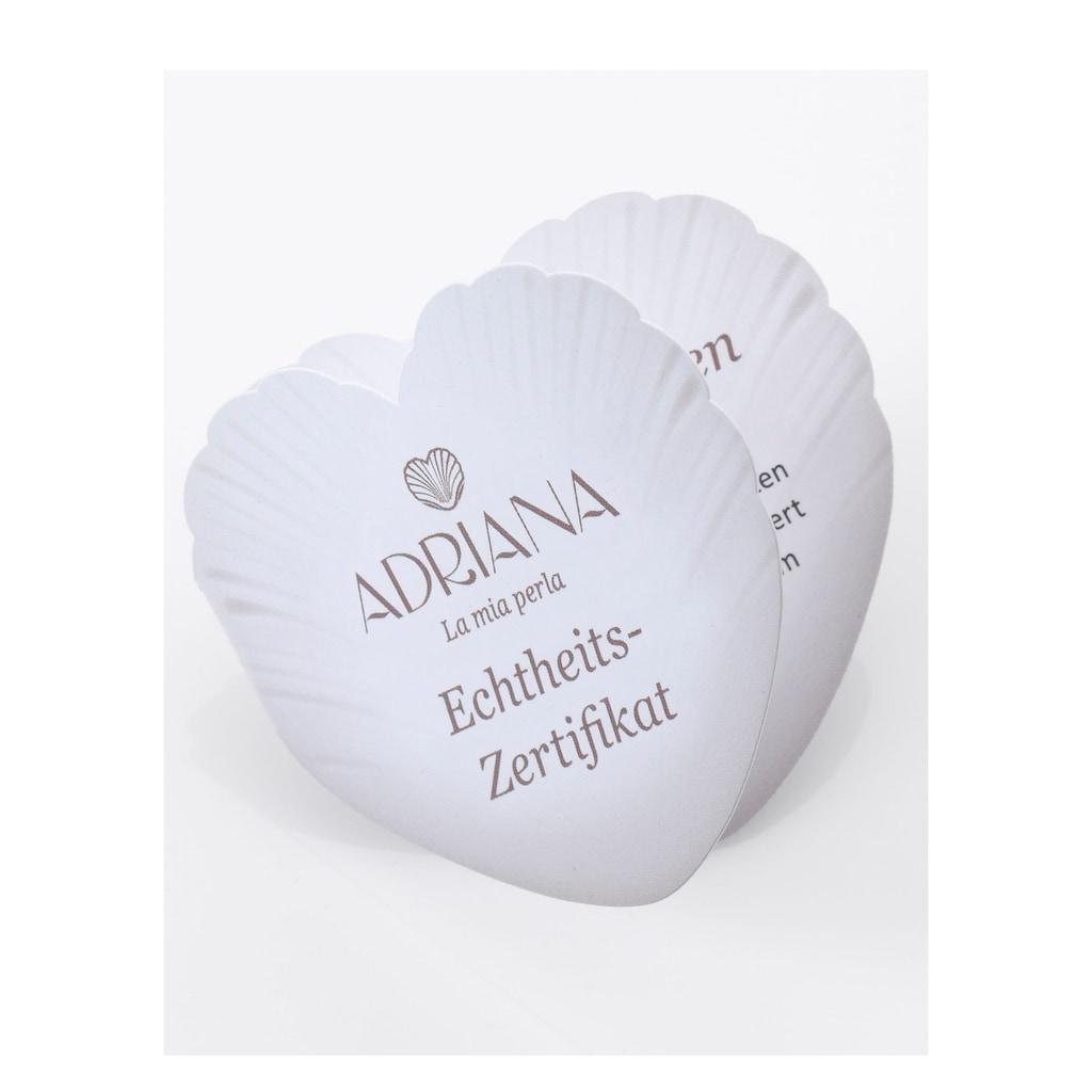 Adriana Lange Kette »PR4-32«, mit Spinell und Tahitizuchtperlen, Made in Germany