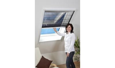 HECHT Insektenschutz - Dachfenster - Rollo weiß/anthrazit, BxH: 80x160 cm kaufen