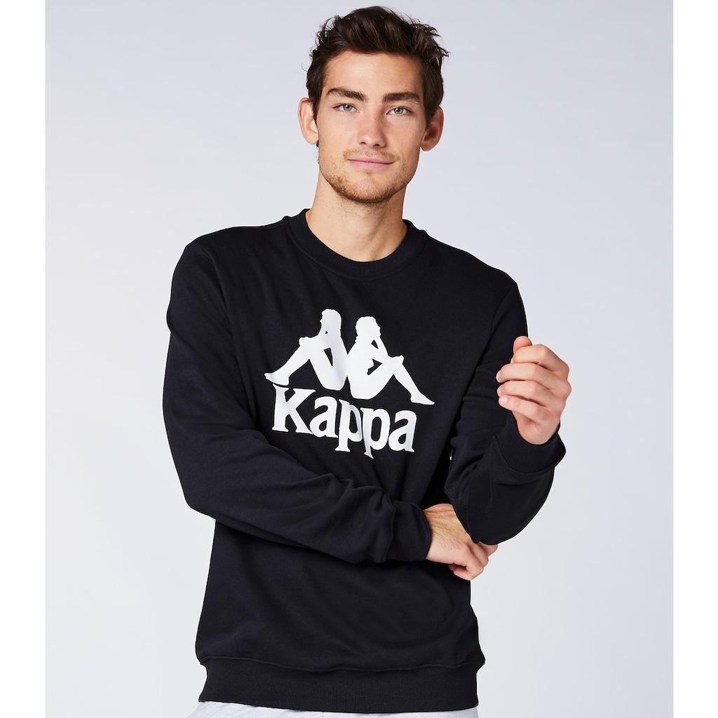Kappa Sweatshirt »AUTHENTIC SERTUM«, mit angesagtem Rundhalsausschnitt<br />