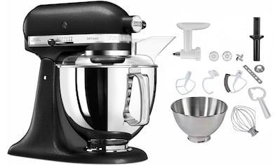 KitchenAid Küchenmaschine 5KSM175PSEBK Artisan, 300 Watt, Schüssel 4,8 Liter kaufen