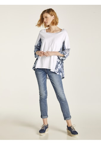Bauchweg - Jeans Alwa mit Stickerei kaufen