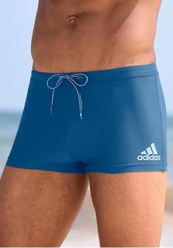 adidas Performance Boxer-Badehose, mit kontrastfarbenen Details kaufen