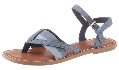 TOMS Sandale, in Jeans-Optik kaufen
