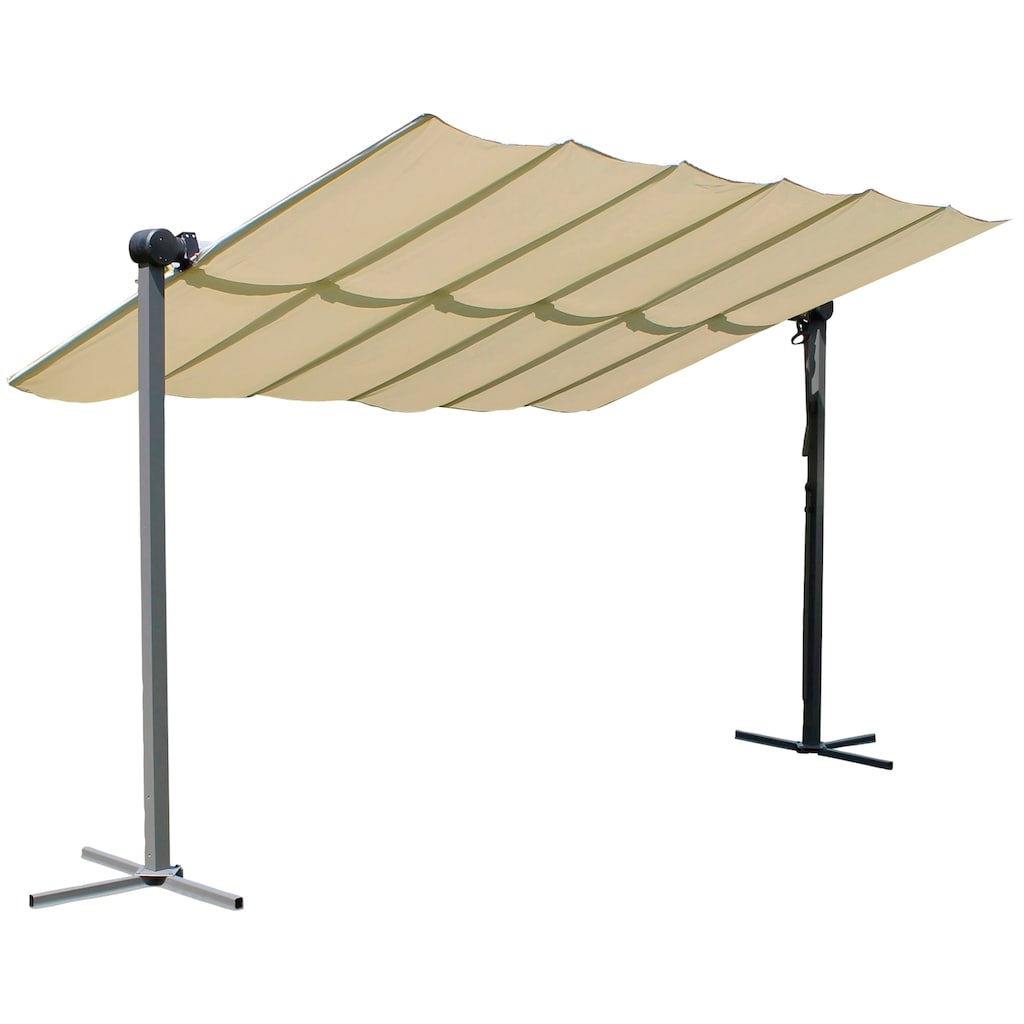 Leco Pavillon »Waved«, BxT: 250x350 cm, mit Sonnendach