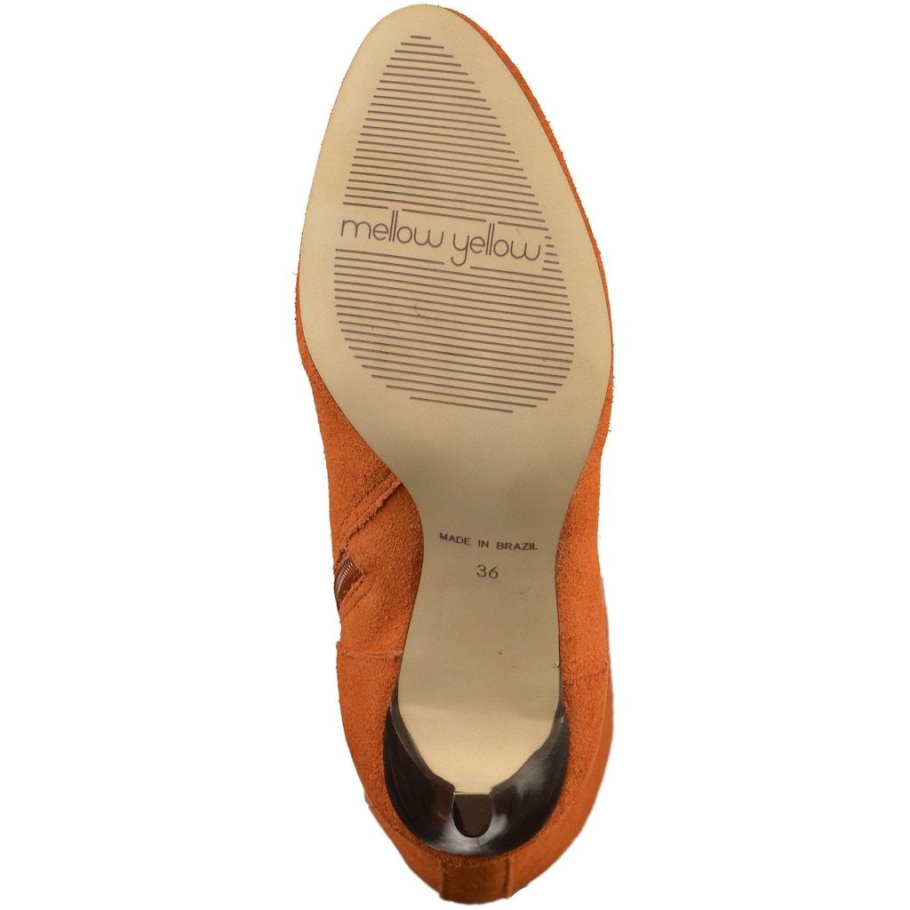 Mellow Yellow High-Heel-Stiefel »Leder«