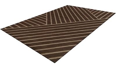 calo-deluxe Teppich »Vilea 5036«, rechteckig, 15 mm Höhe, Wohnzimmer kaufen