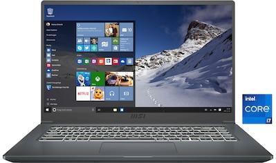 """MSI Notebook »A11SBU-014«, (39,6 cm/15,6 """" Intel Core i7 GeForce MX450\r\n 512 GB SSD) kaufen"""