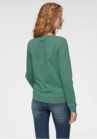 TOM TAILOR Polo Team Sweatshirt, mit tollem Logodruck im Regenbogen-Design - NEUE... kaufen