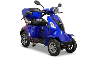 Rolektro Elektromobil »Rolektro E-Quad 25 V.3, Lithium Akku«, 25 km/h, (mit Topcase) kaufen