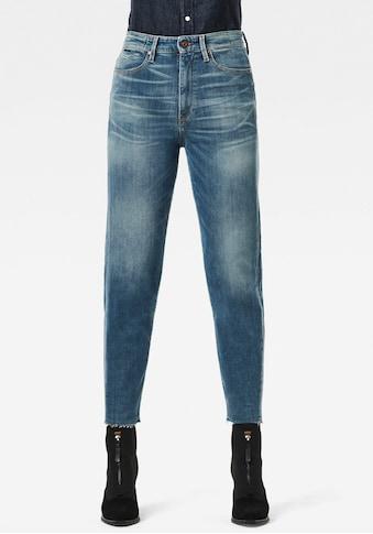 G-Star RAW Straight-Jeans »Janeh Ultra High Mom Ankle C Jeans«, im 5-Pocket-Design mit... kaufen