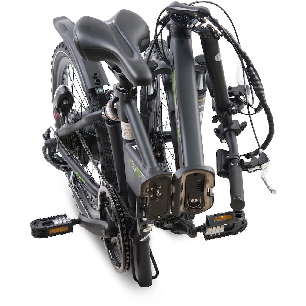 LLobe E-Bike »City III schwarz«