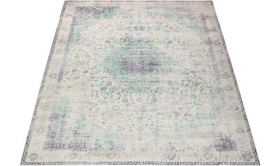 Leonique Teppich »Dario«, rechteckig, 9 mm Höhe, Vintage Design, Wohnzimmer kaufen
