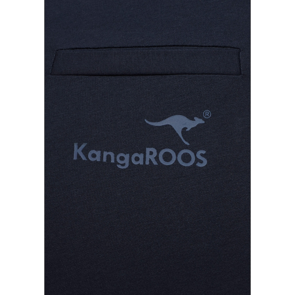KangaROOS Jogger Pants, mit seitlichem Kontraststreifen
